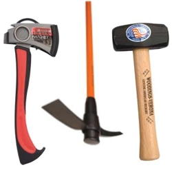 Axes Hammers and Picks