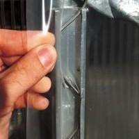 Greenhouse Plastic Anchoring