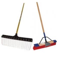 Rakes and Brooms